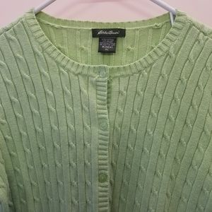 Eddie Bauer Button up sweater